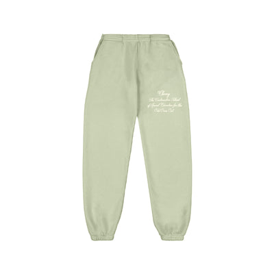 ODD ONES OUT SWEATPANTS (SAGE)