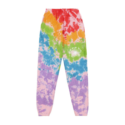 BLOSSOM SWEATPANTS (FRUITY PEBBLES TIE DYE)