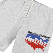 """TOGETHER WE STAND"" SWEAT SHORTS"