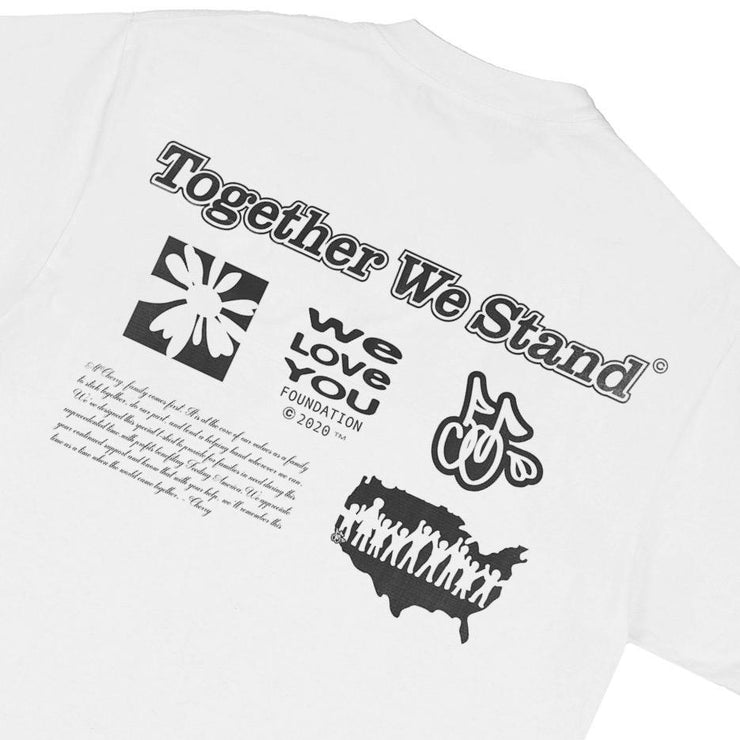 """TOGETHER WE STAND"" T-SHIRT (VINTAGE WHITE)"