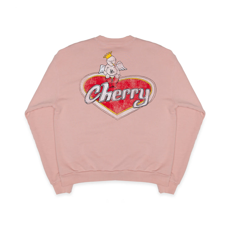 Valentine's Day CREWNECK SWEATSHIRT (BLUSH)