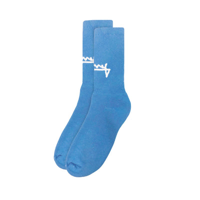 SUMMER CLASSIC SOCKS (BLUE CRUSH)