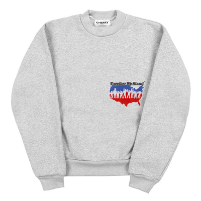 """TOGETHER WE STAND"" CREWNECK SWEATSHIRT"