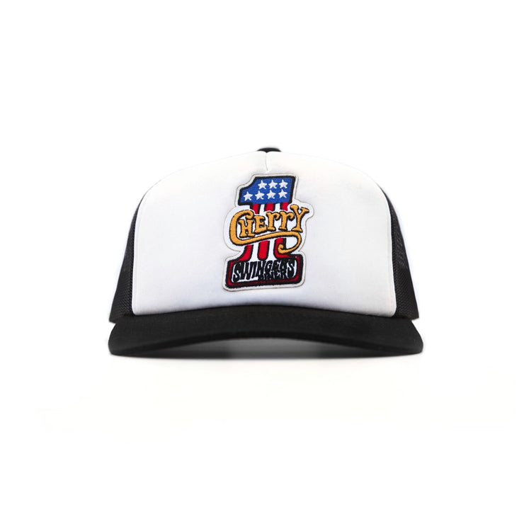 SWINGERS TRUCKER HAT (BLACK)