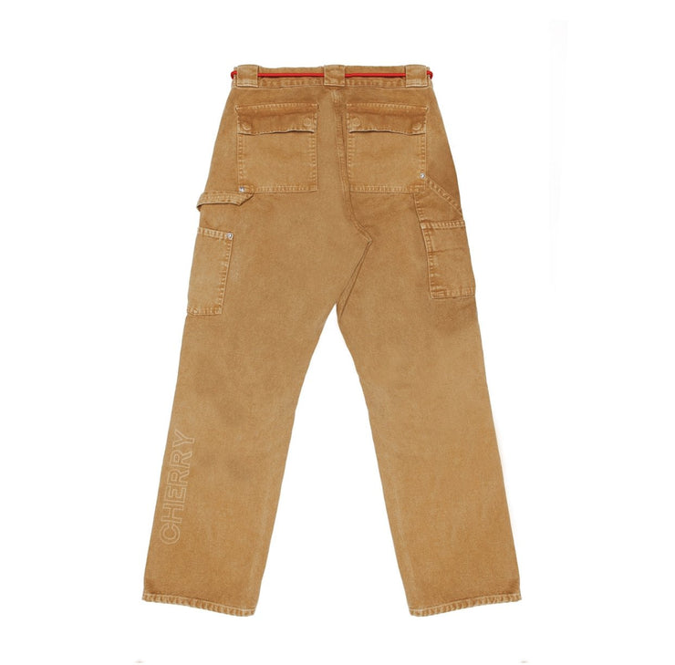 CANVAS WORK PANTS (COYOTE BROWN)