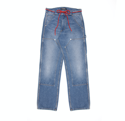DENIM WORK PANTS (INDIGO)