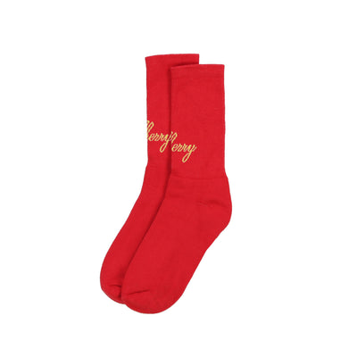 AMERICAN CLASSIC SOCKS (RED & GOLD)