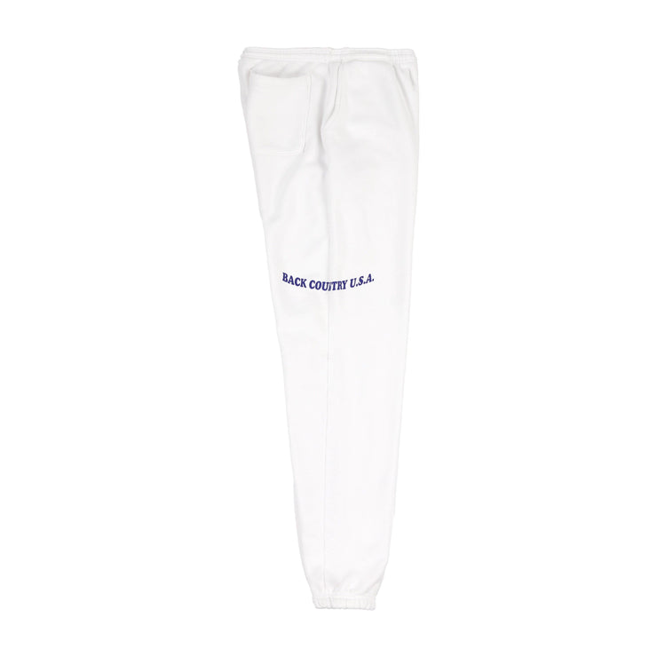 BACK COUNTRY SWEATPANTS (SNOW WHITE)