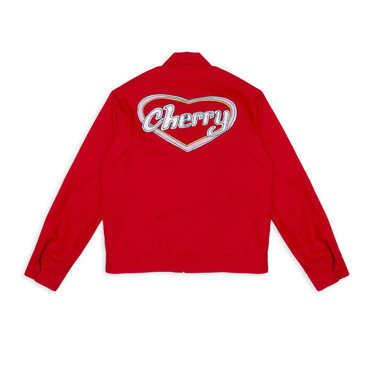 VALENTINES DAY CLUB JACKET (CHERRY RED)