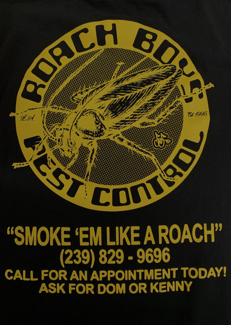 ROACH BOYS T-SHIRT (BLACK)