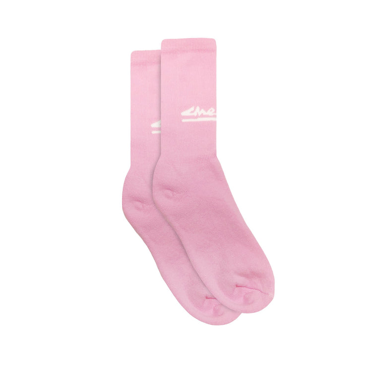 SUMMER CLASSIC SOCKS (BUBBLE GUM)
