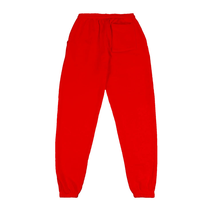 PIN-TUCK SWEATS (CHERRY RED)