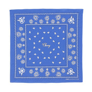 CHERRY BANDANA (BLUE)