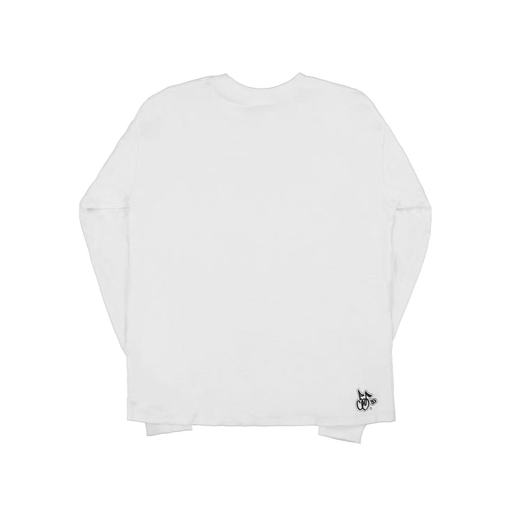 WIN LONG SLEEVE T-SHIRT (VINTAGE WHITE)