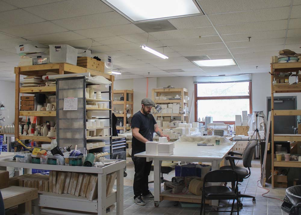 The Pottery Studio at The Bright Angle in Asheville NC