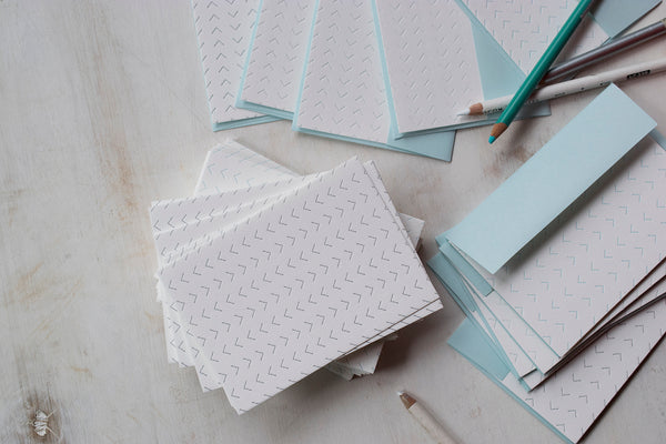 Handmade Cards by The Bright Angle and 7 Ton Press