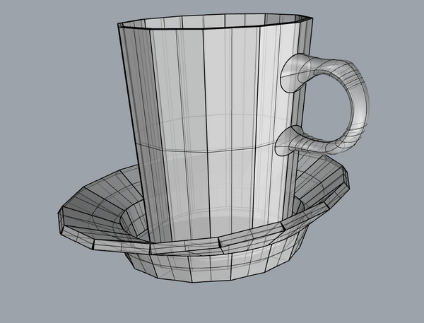 3D Model of The Bright Angle
