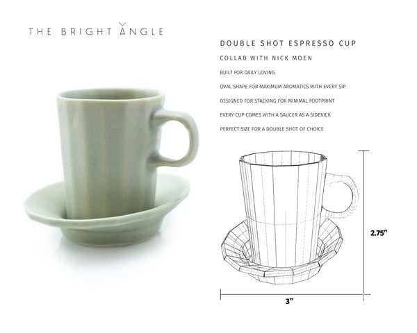 The Doubleshot Espresso Coffee Cup from The Bright Angle