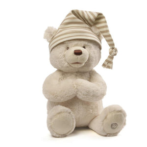 Goodnight Prayer Bear-Paris Pink & Cowboy Blue Baby Boutique