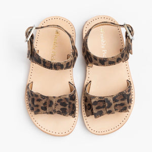 Leopard Bayview sandal-Shoes-Paris Pink & Cowboy Blue Baby Boutique