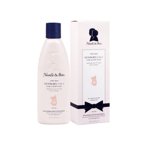 Newborn 2-in-1 hair & body wash-Paris Pink & Cowboy Blue Baby Boutique