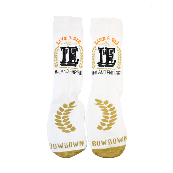 Live & Die Inland Empire Sock