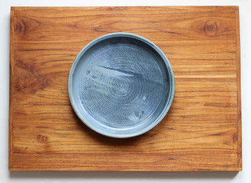 Pie Baking Dish in Wellhouse Blue