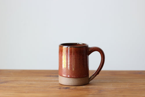 The Farmhouse Mug in Rust Belt Red