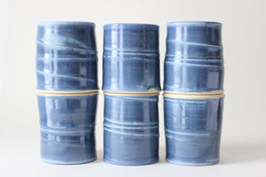 Juice Glass in Spruce Blue - Limited Availability
