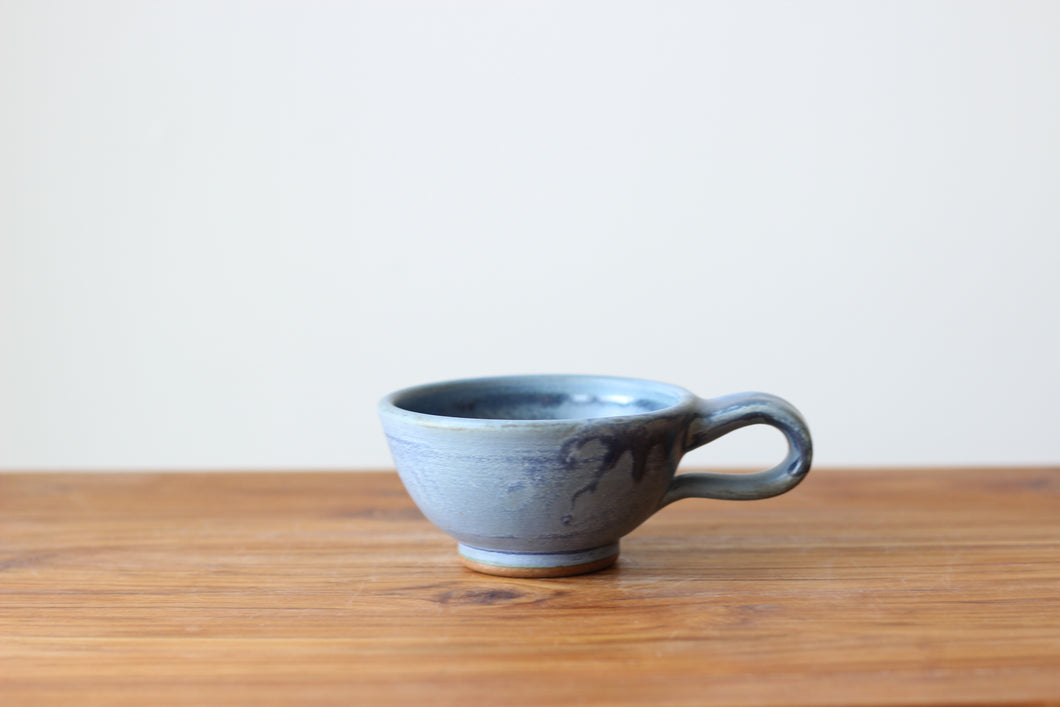 Latte Cup in Wellhouse Blue - Limited Availability