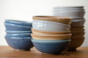 Wellhouse Blue Ice Cream Bowls