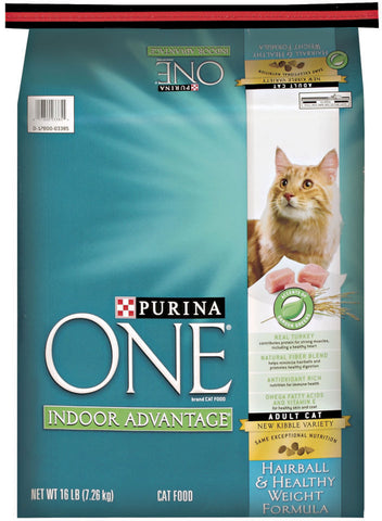 Purina ONE Indoor Advantage Hairball and Healthy Weight Formula Dry Cat Food