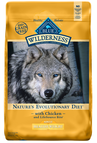 Blue Buffalo Wilderness Grain Free Healthy Weight-Chicken Dry Dog Food
