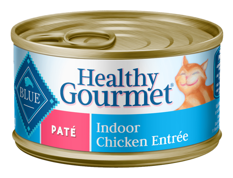 Blue Buffalo Healthy Gourmet Adult Indoor Chicken Entree Canned Cat Food