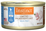 Nature's Variety Instinct Grain Free LID Turkey Canned Cat Food