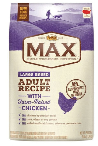 Nutro Max Large Breed Adult Recipe With Farm Raised Chicken Dry Dog Food