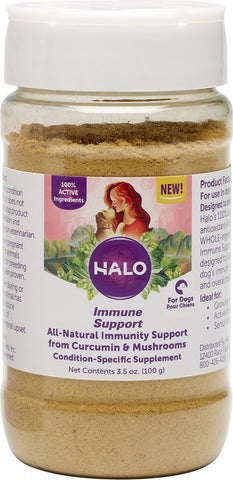 Halo Immune Support Powder Supplement for Dogs