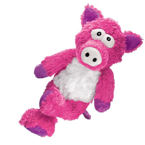 Kong Cross Knots Pig Plush Dog Toy