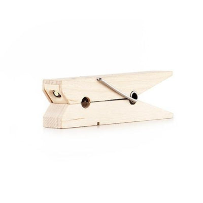 Wood Clothespin Light Kikkerland Design