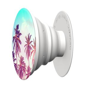 Tropical Palm Popsocket Phone Grip and Stand Gent Supply Co.