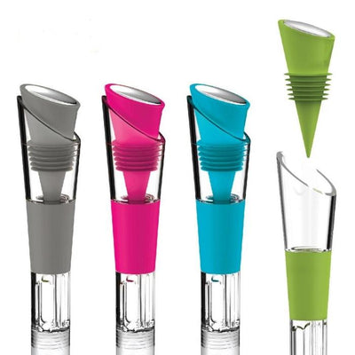 The Chill - Wine Chiller, Pourer, Stopper Give Simple