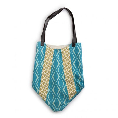 Teal Diamond Bag