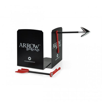 Arrow Bookends Just Mustard