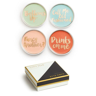Cocktail Hour Coasters (Set of 4) Rosanna