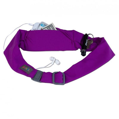 Magenta Sport Pocket Belt Bandi Wear