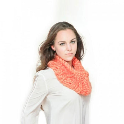 Knit Your Own Infinity Scarf Give Simple