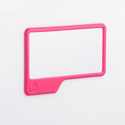 Silicone Mirror Gent Supply Co. Pink