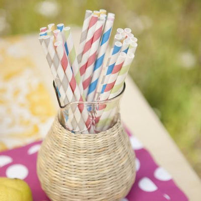 Colorful Eco Straws Give Simple