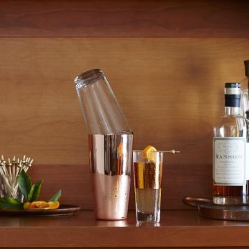 Copper Boston Cocktail Shaker Set Gent Supply Co.