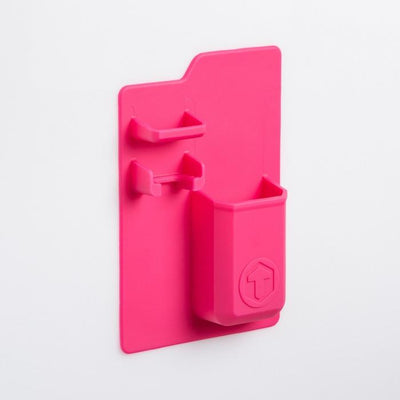 Silicone Bathroom Caddy Give Simple Pink
